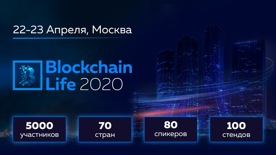 форум Blockchain Life 2020 в Москве